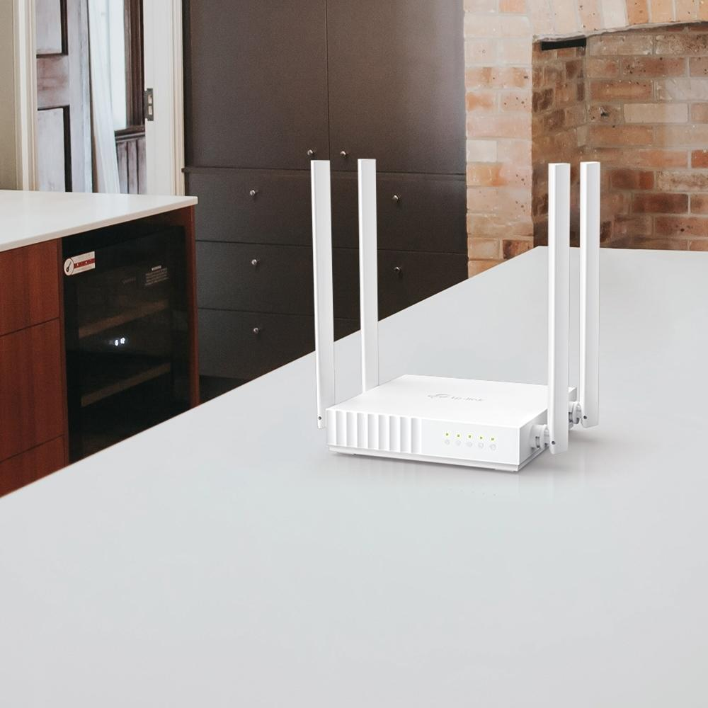 Roteador Wireless TP-Link AC750 Dual Band, 433 Mbps, 4 antenas - Archer C21