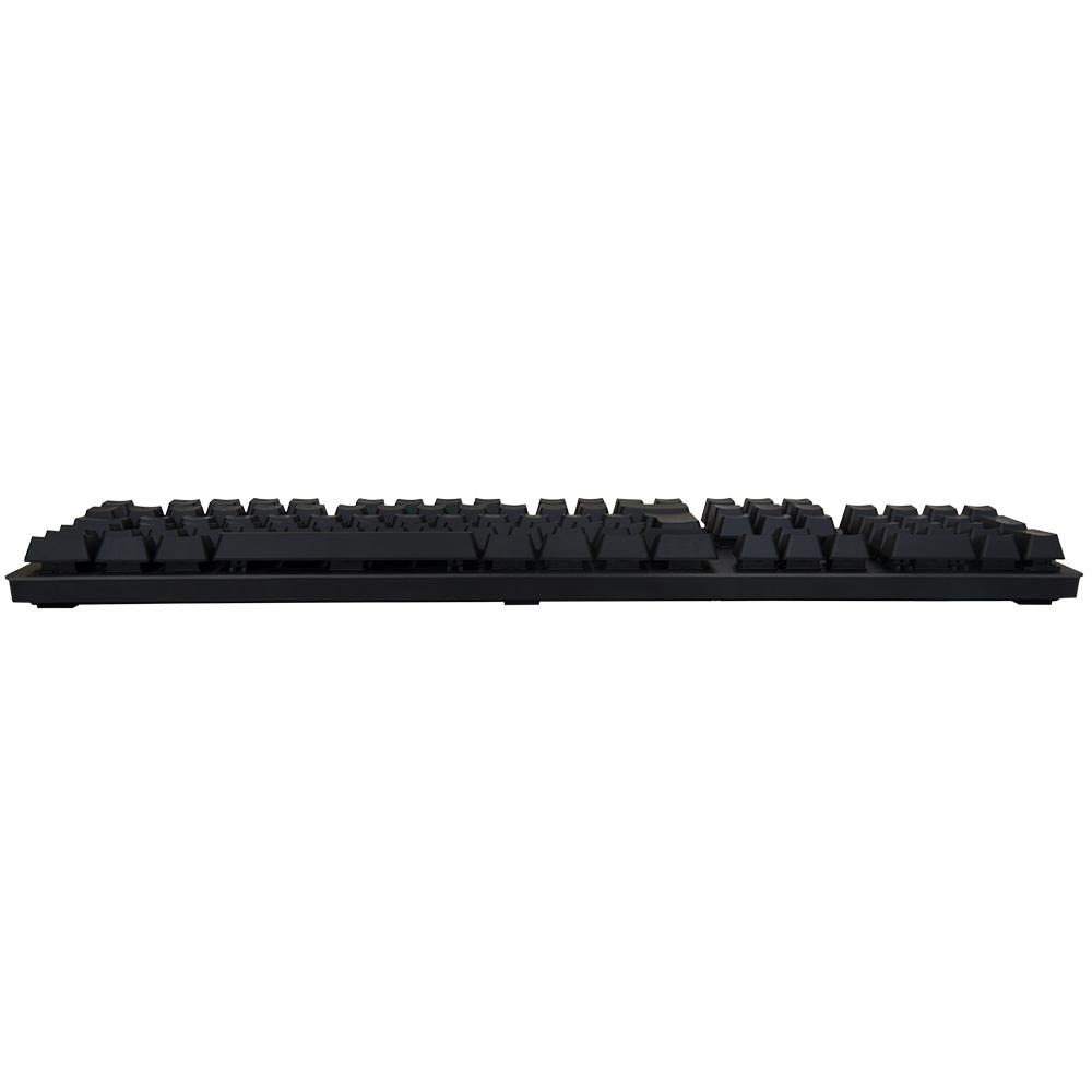 Teclado mecânico Gamer G413 Carbon, Logitech,  LED Vermelho, Switch Romer-G Tactile, ABNT2 - 920-009162
