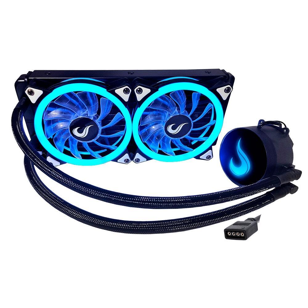 Water Cooler Rise Mode Gamer Black, RGB, 240mm - RM-WCB-02-RGB