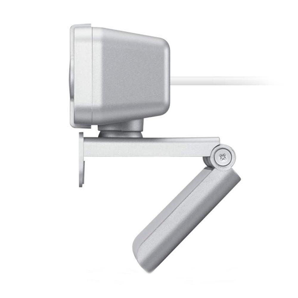 Webcam Lenovo 300 Full HD Com Microfone Integrado, 1080p 30fps, USB, Cinza Claro - GXC1B34793