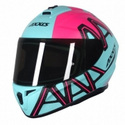 CAPACETE AXXIS DRAKEN DEKERS MATTE TIFANY/PINK 62/XL