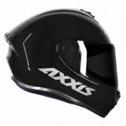 CAPACETE AXXIS DRAKEN SOLID GLOSS BLACK 60/L