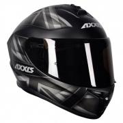 CAPACETE AXXIS DRAKEN UK MATTE BLACK/GREY 60/L