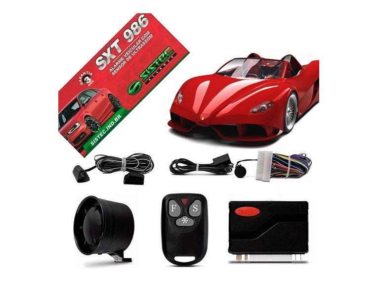 ALARME AUTOMOTIVO SISTEC SXT 986 Mais Segurança para seu Automóvel!