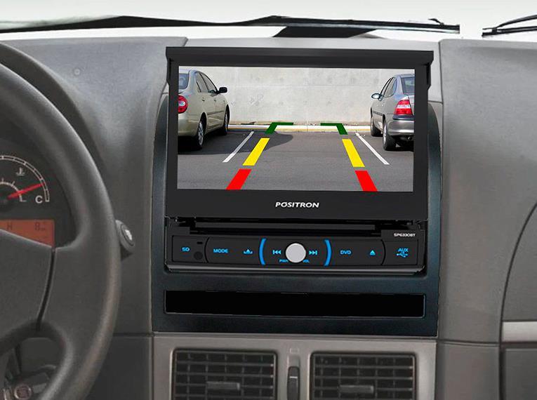 DVD AUTOMOTIVO RETRÁTIL POSITRON SP6330 BT Som e Imagem de Qualidade para seu Carro
