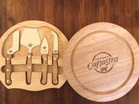 Kit com utensílios para queijo - Região do Queijo da Canastra