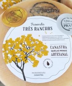 Queijo Canastra - Fazenda Três Ranchos - Tradicional
