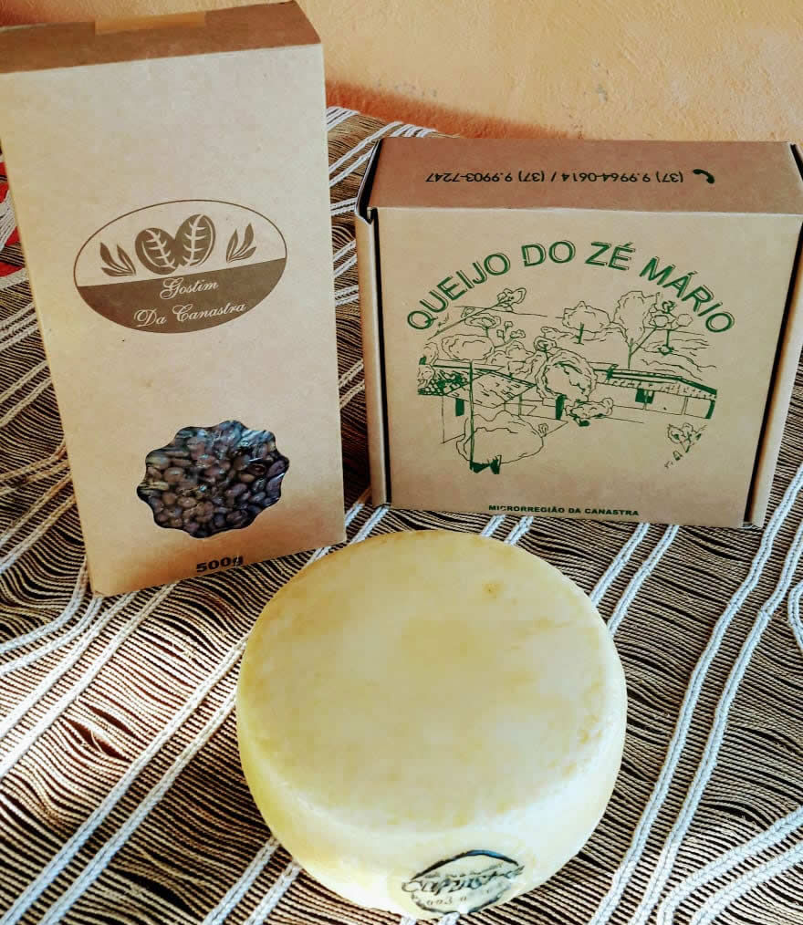 Kit 5 - Café + Queijo Canastra Zé Mario
