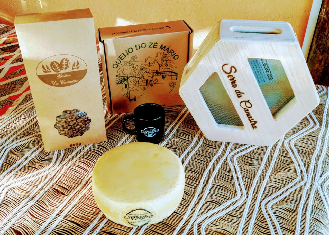 Kit 8 - Café + Caneca + Maturador + Queijo Canastra Zé Mario