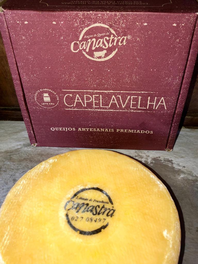 Queijo Canastra Capela Velha - Tradicional