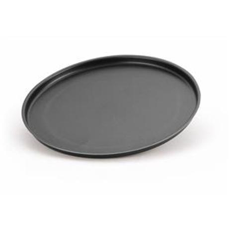 Assadeira redonda de metal para pizza grande - 123útil