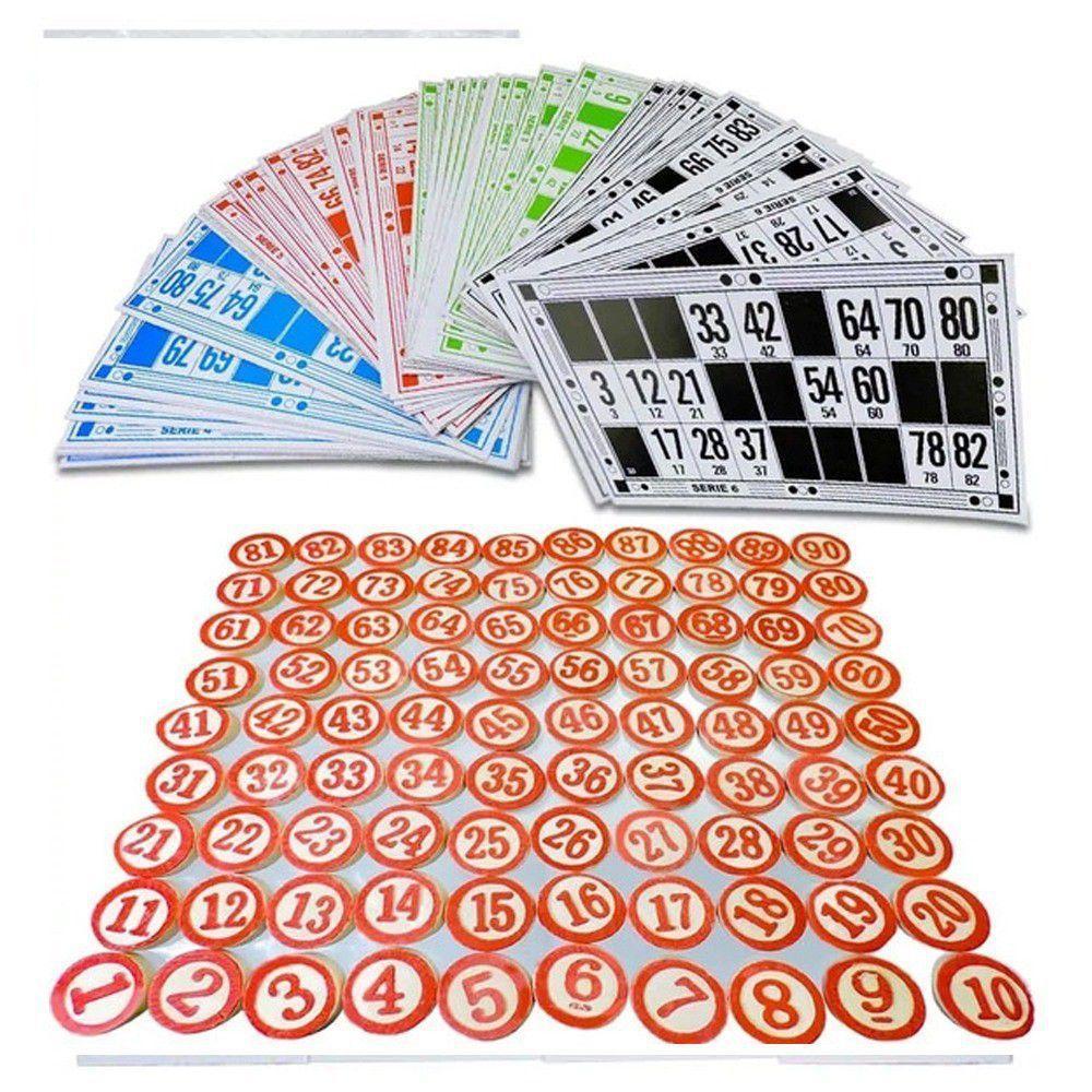 Bingo Lotto Tombola Clássico