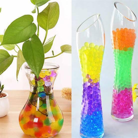 bolinhas de gel para Vasos e Decoração