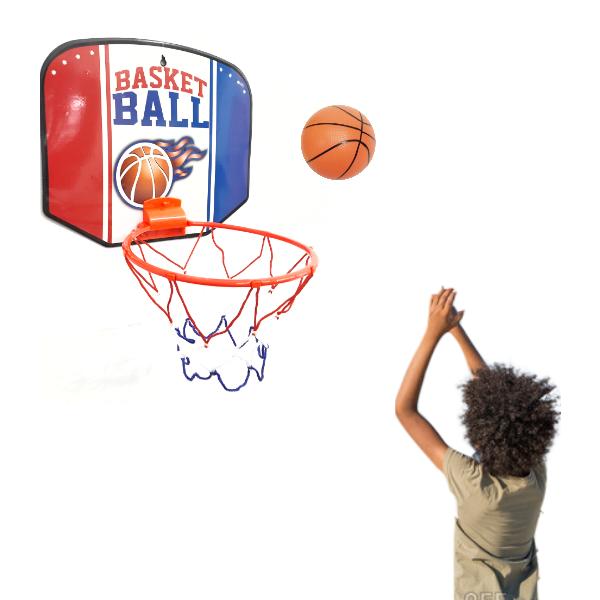 Brinquedo Mini Tabela de Basquete e Bola