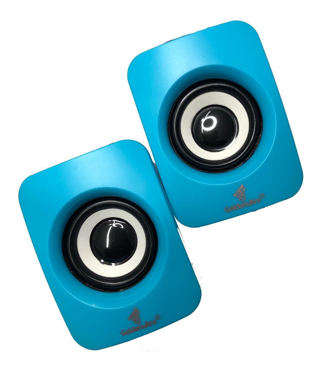 Caixa de som para computador - Azul