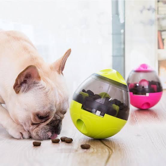 Comedouro Interativo Petisco para Cães e Gatos