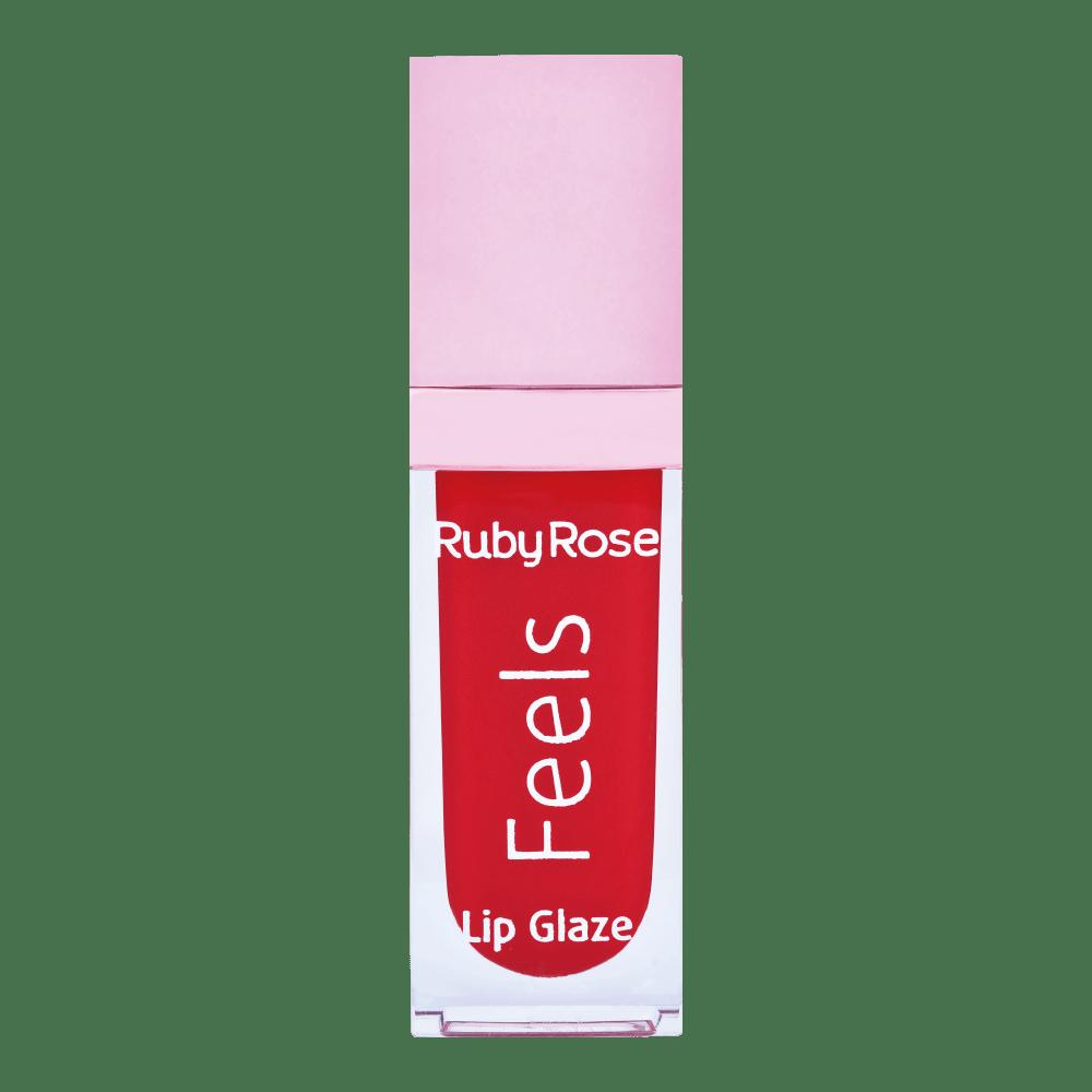 Gloss Labial lip Glaze Linha Feels Ruby Rose - 8227-82