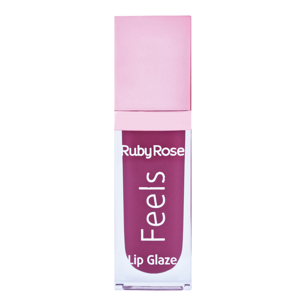 Gloss Labial lip Glaze Linha Feels Ruby Rose - 8227-83