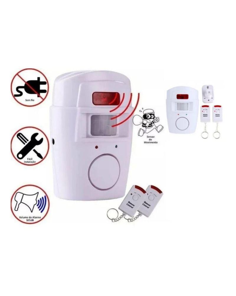 Kit Alarme Residencial Comercial Sem Fio + 2 Controles