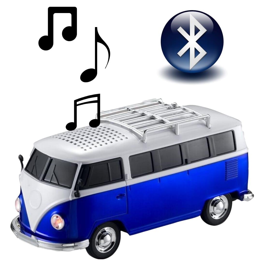 Kombi Caixa de Som - Bluetooth, Rádio FM, Usb e SD