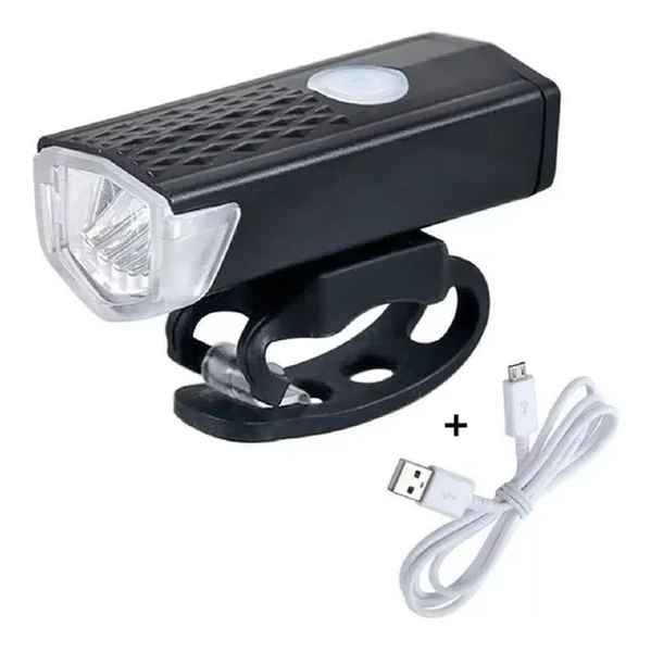 Lanterna Farol Bicicleta Bateria Bike Raypal