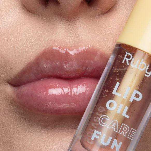 Lip Oil  Sorvete de Baunilha - Gloss Ruby Rose