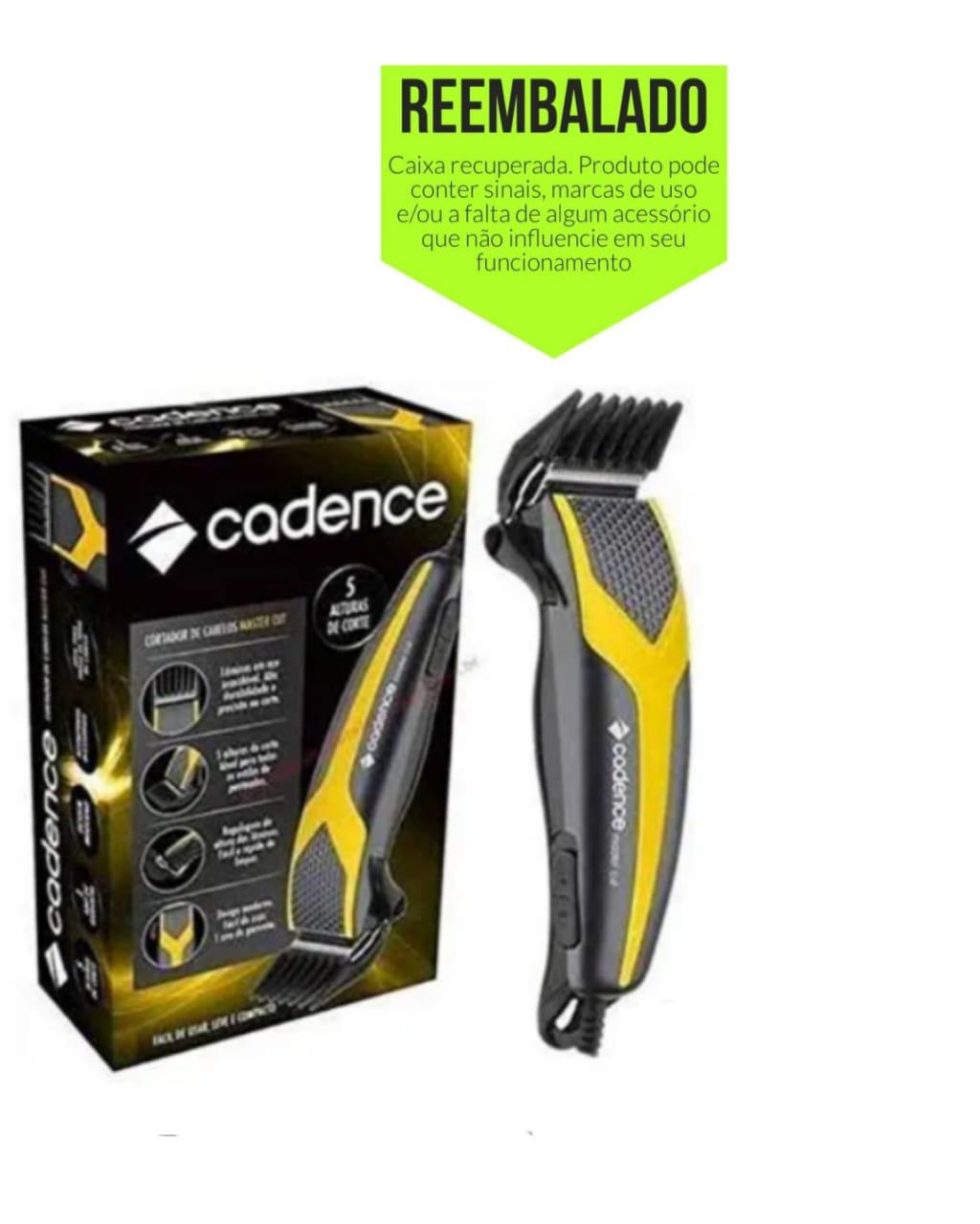 Máquina de cortar cabelo Cadence - 10w - 127v