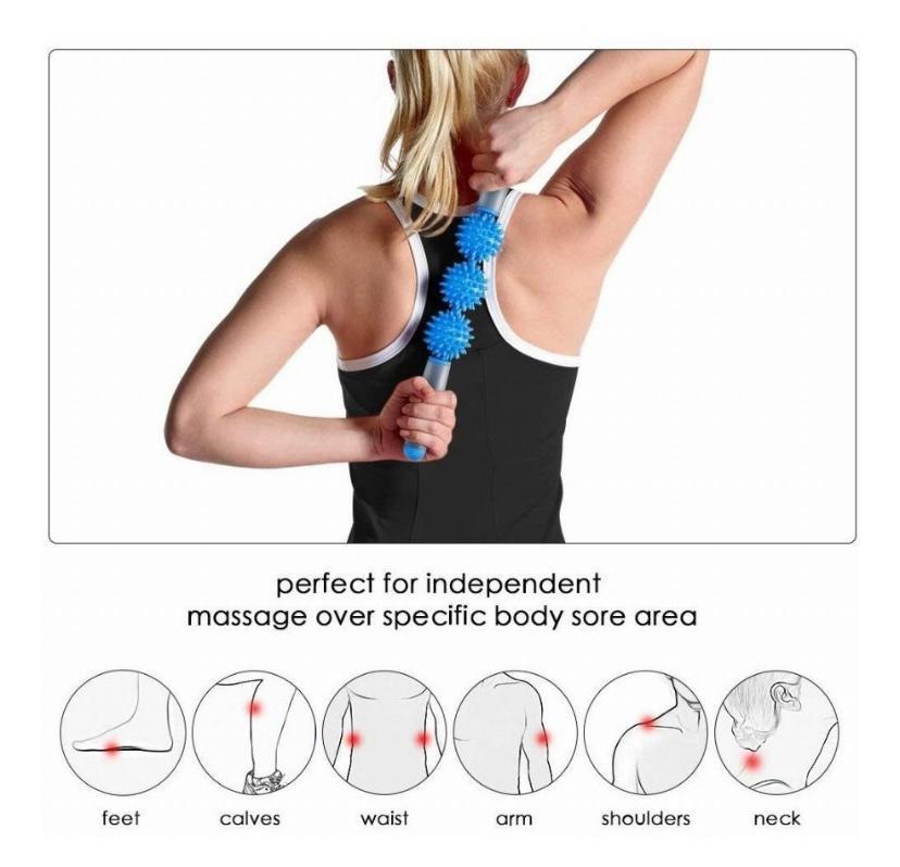 Massageador com Espinhos para Massagem Miofascial