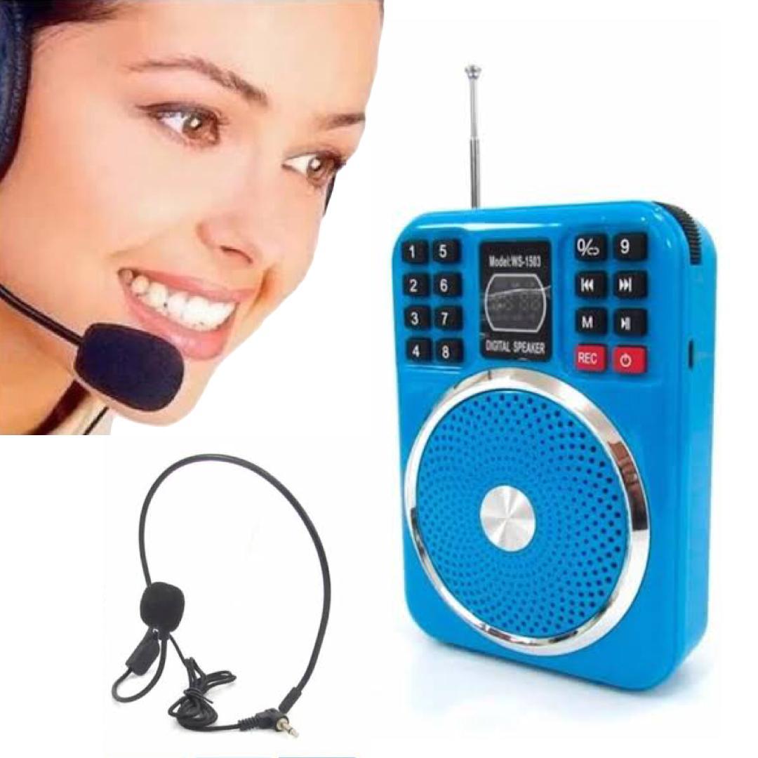 Microfone Amplificador para Aulas e Palestras