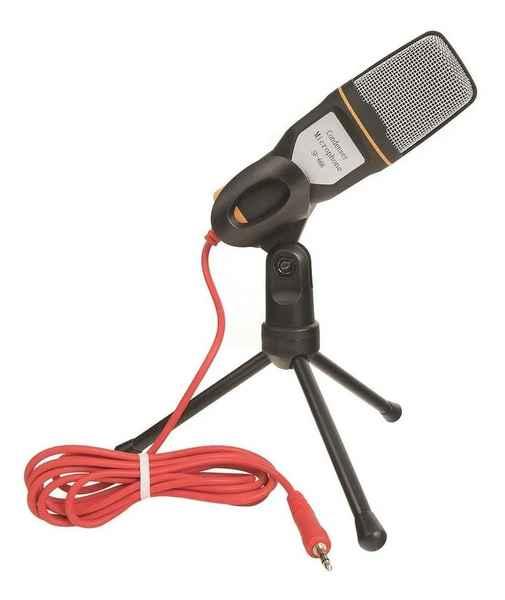 Microfone Condensador Para Gravação No Pc