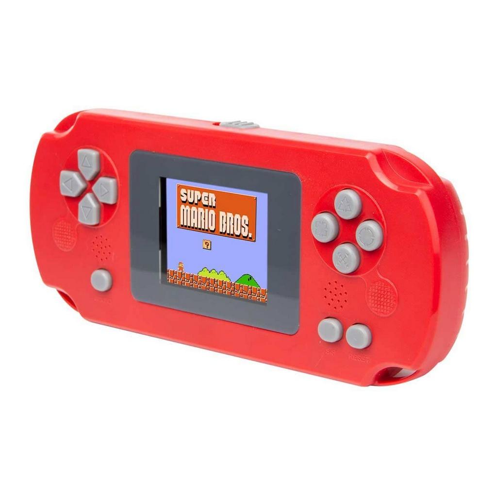 Mini Game Portátil com 268 jogos clássicos retrô Pocket Player