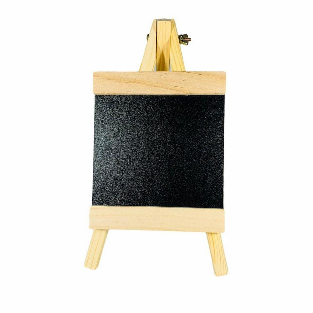 Mini Lousa Decorativa Para Escrever Em Giz - 23x13cm
