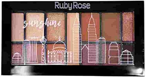 Mini Paleta de Sombra Sunshine ruby rose - HB 9985-15