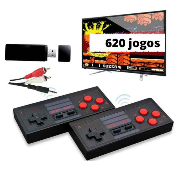 Mini vídeo Game Retro Wireless