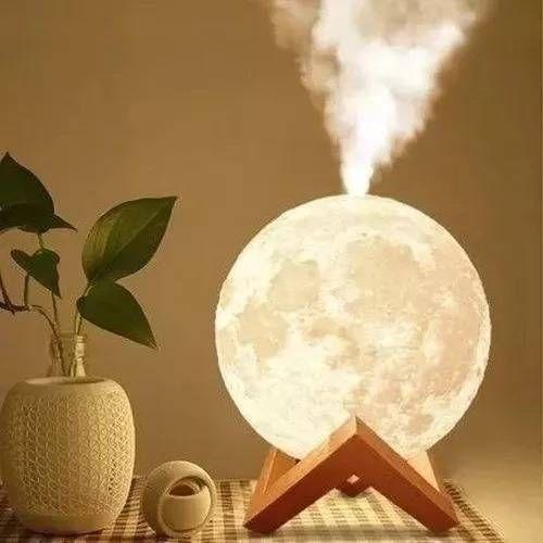 Luminária Umidificador/Difusor Lua Cheia