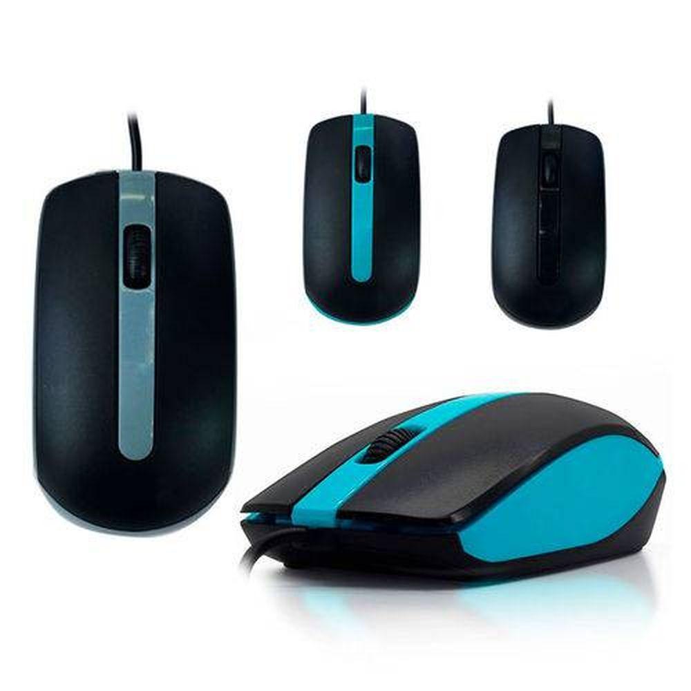 Mouse Usb Óptico Alta Precisão
