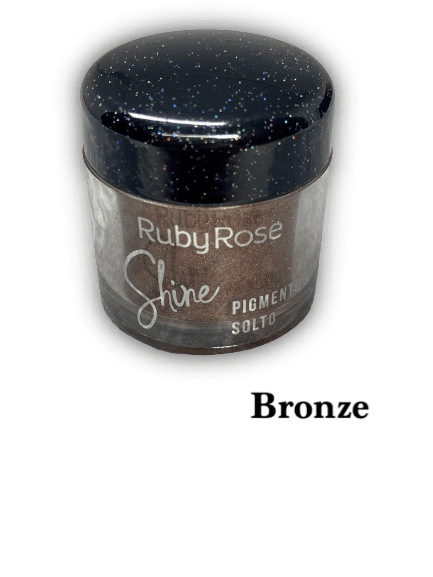 Pigmento Solto Bronze Ruby Rose