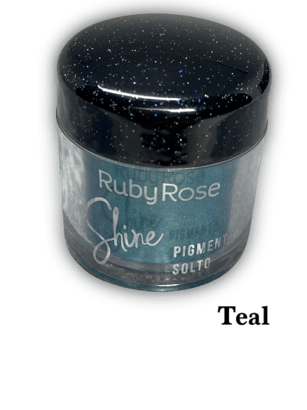 Pigmento Solto Teal Ruby Rose