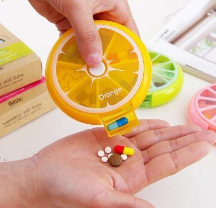 Porta Comprimidos Fruits