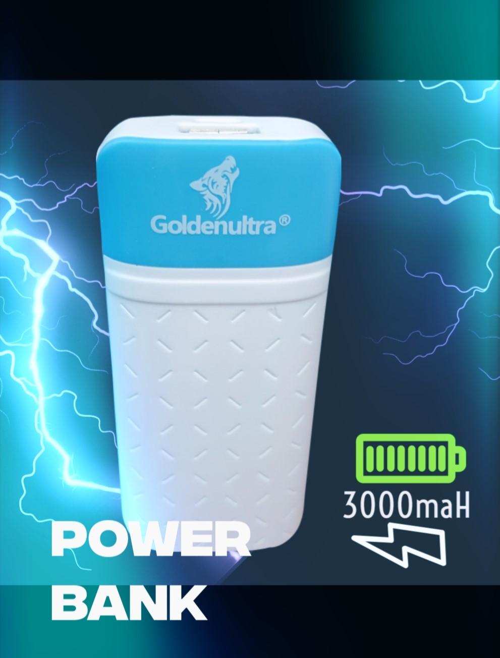 Power Bank - Carregador Portátil 3000maH