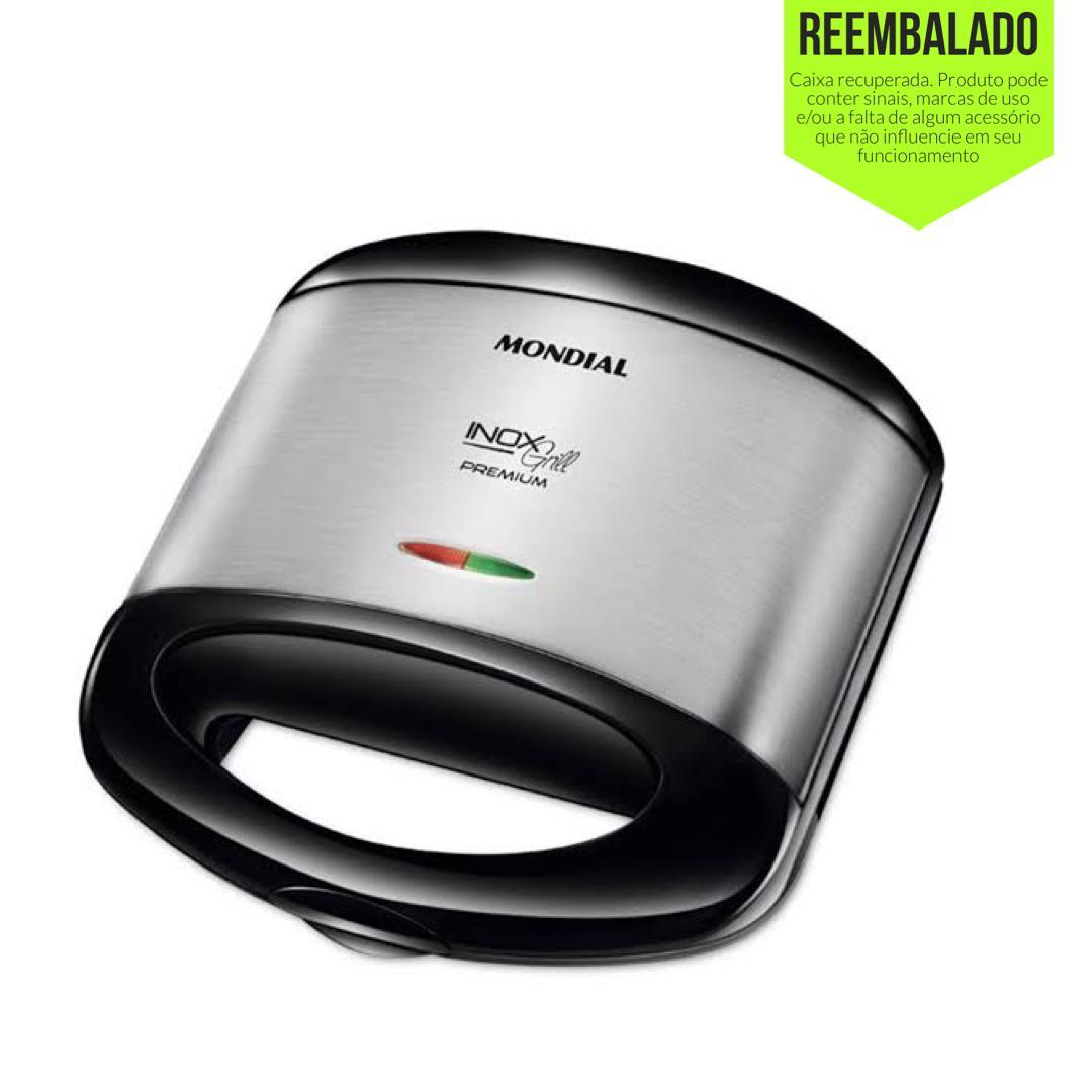 Sanduicheira e Grill Mondial Premium S-07