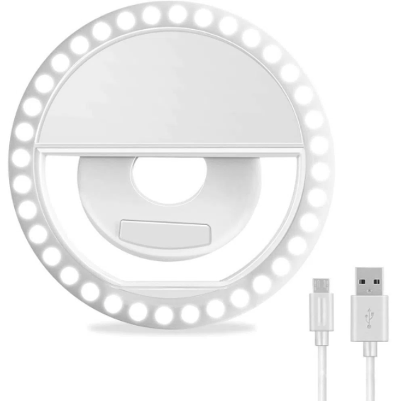 Selfie Ring Light Para Smartphone