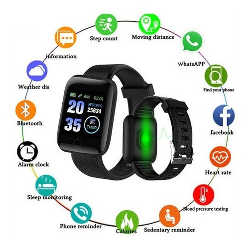 Smartwatch D13 Bluetooth  Android/Ios