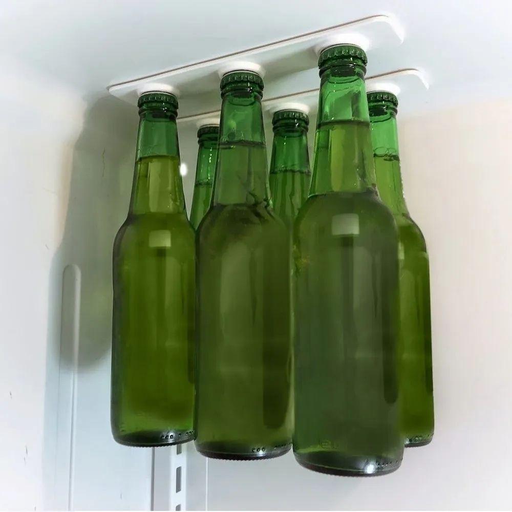 Suporte de garrafas magnético