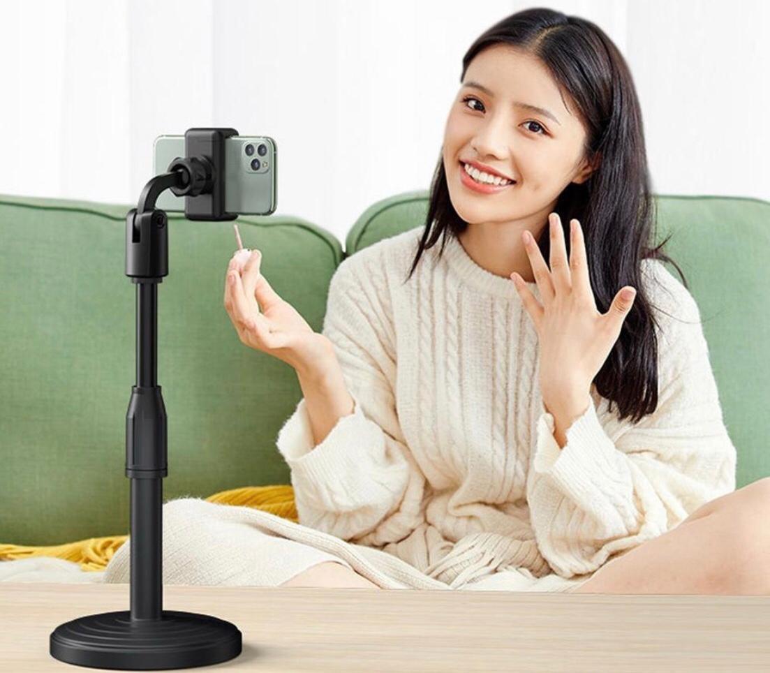 Suporte de Mesa para Celular ou microfone