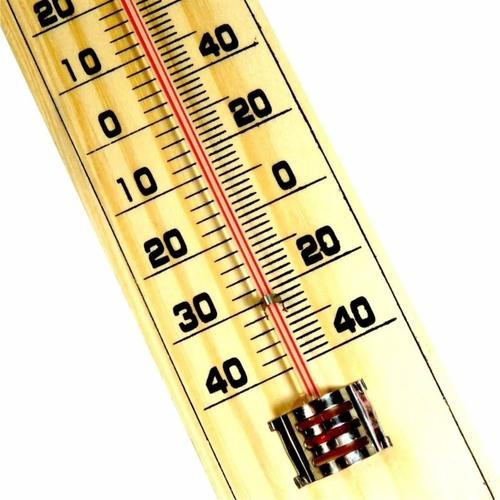 Termômetro em Madeira