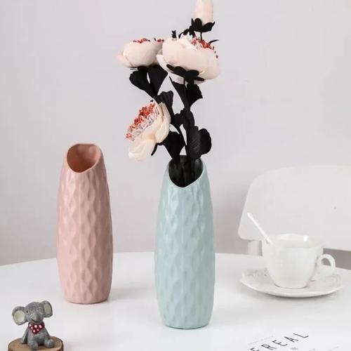 Vaso Decorativo Plástico