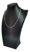 Choker Colar Feminino Elos Coração Prata 925 45 Cm