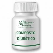 Composto Diurético c/ 60 cápsulas - Auxilia a Diurese
