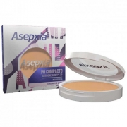 Pó Compacto Antiacne FPS 20 Bege Claro - Asepxia c/ 10g